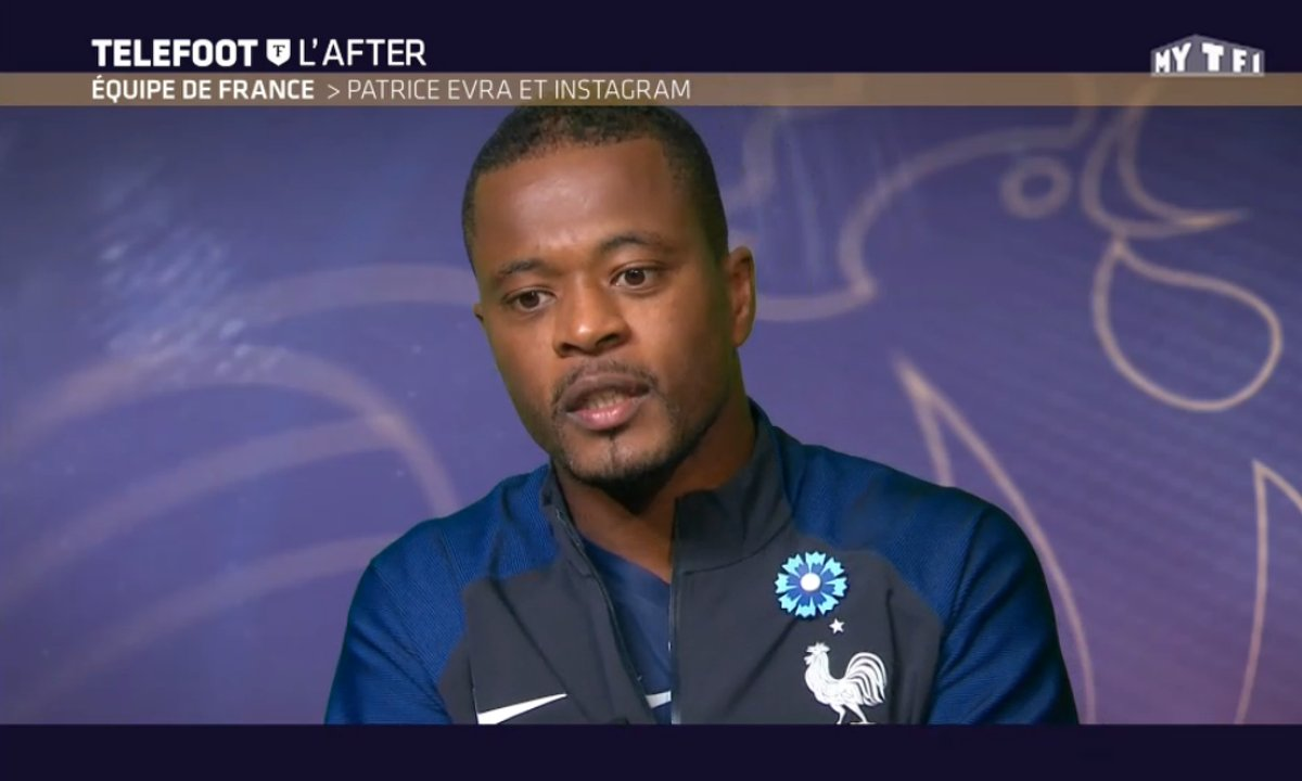Téléfoot, l'After - Patrice Evra explique sa passion pour Instagram