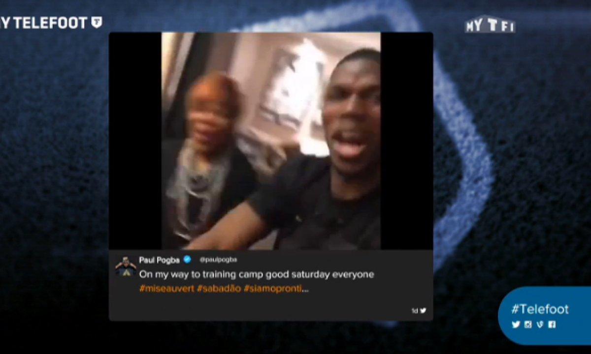 MyTELEFOOT - Paul Pogba danse le Dab avec sa maman !