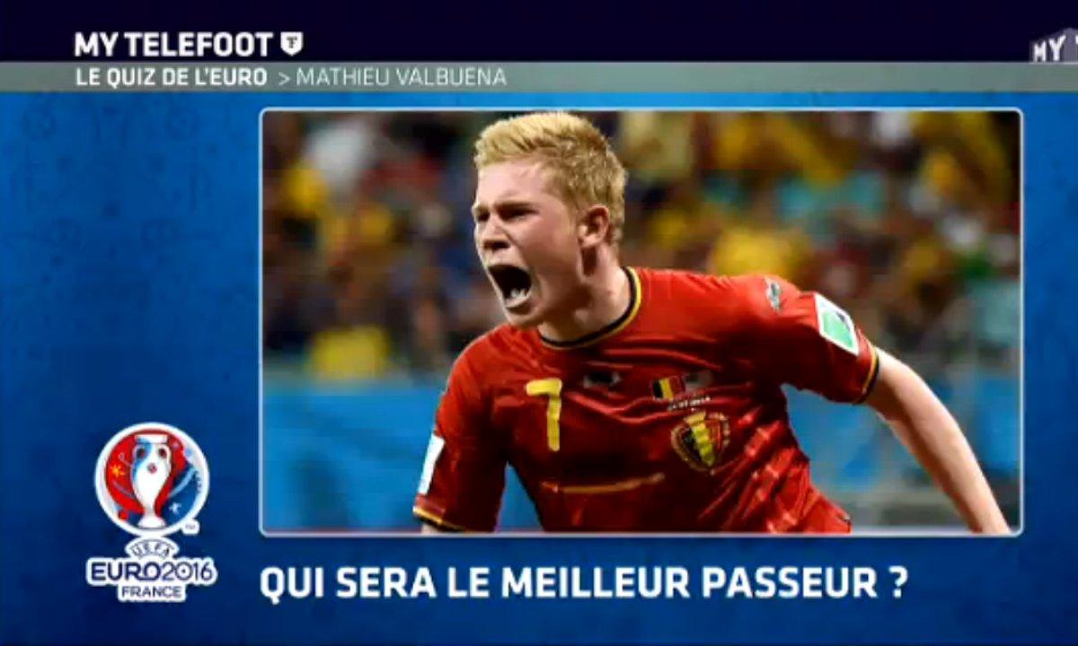 MyTELEFOOT - Le quiz de l'Euro avec Mathieu Valbuena