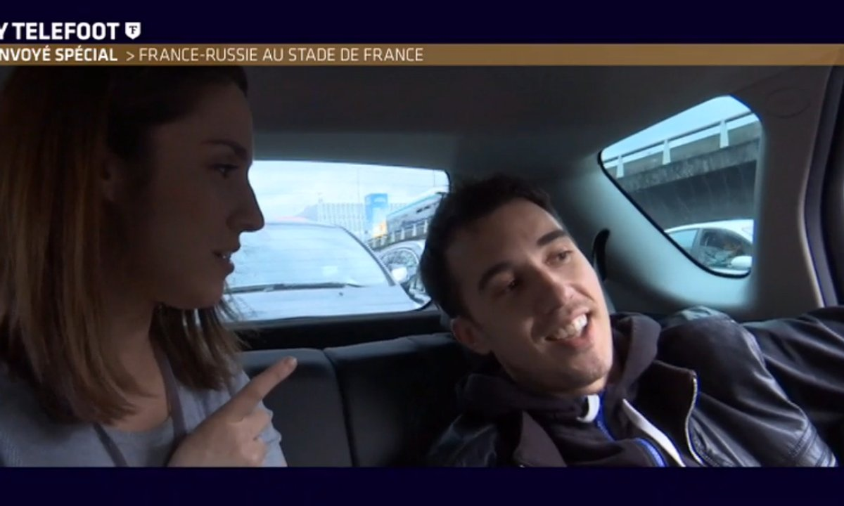 MyTELEFOOT L'After : Le Renvoyé spécal au Stade de France