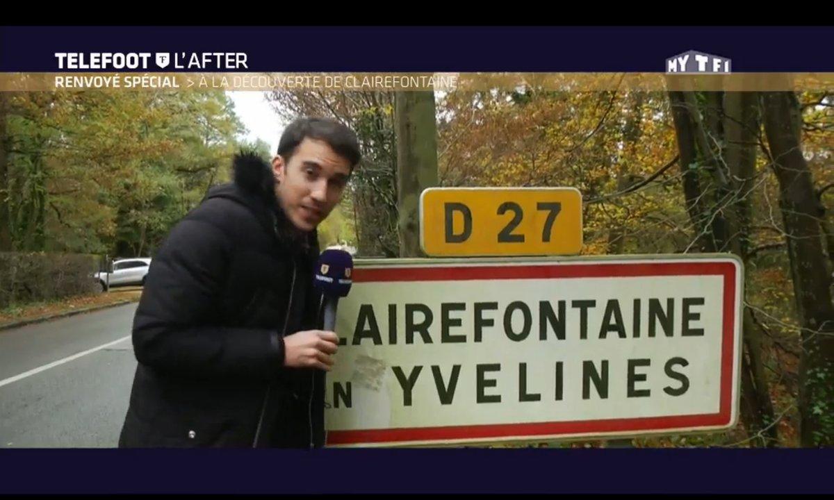Téléfoot, l'After : Le Renvoyé Spécial : à la découverte de Clairefontaine