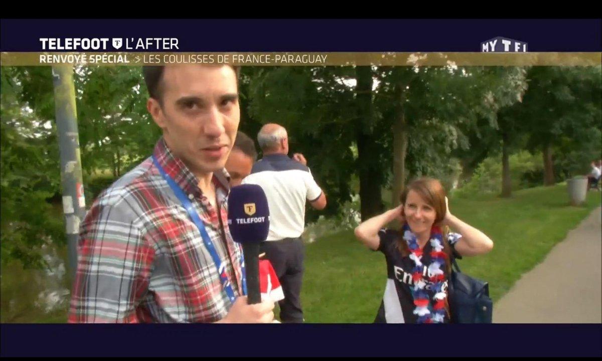 Téléfoot, l'After - Renvoyé spécial : Les coulisses de France-Paraguay