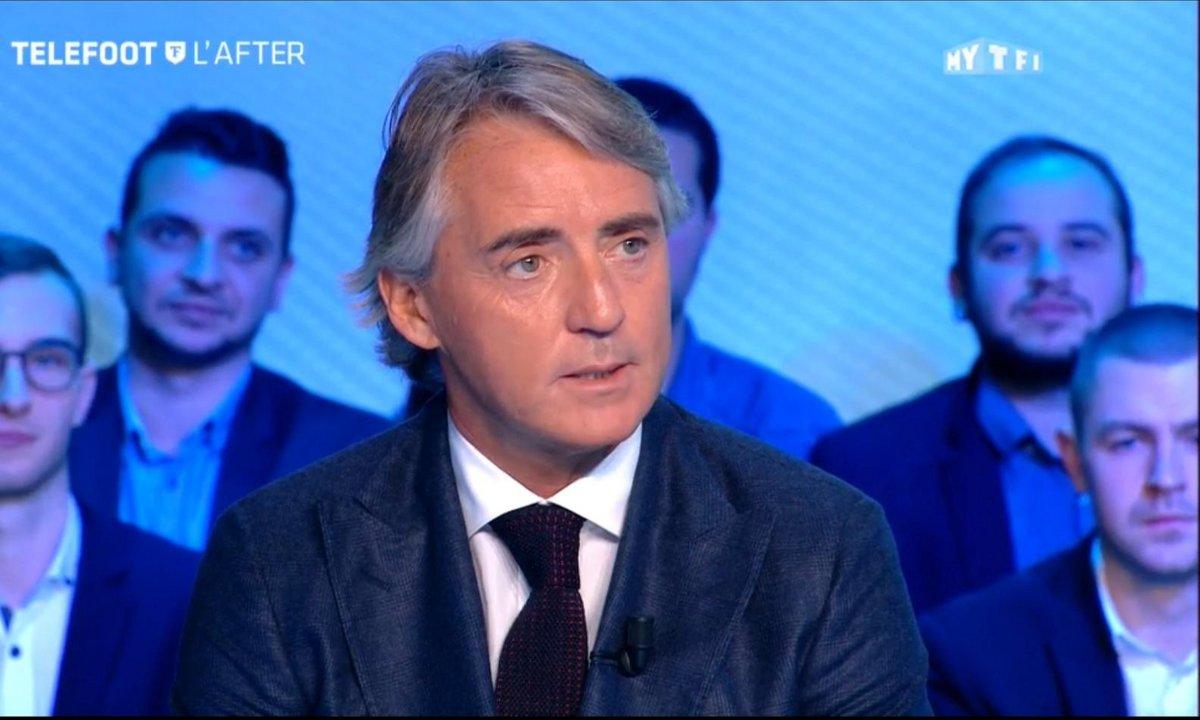 "Téléfoot, l'After - Roberto Mancini : ""L'OM a bien fait de choisir Rudi Garcia"""