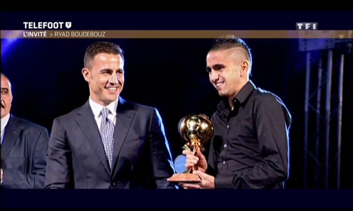 Ryad Boudebouz Ballon d'Or algérien dans les archives de Téléfoot
