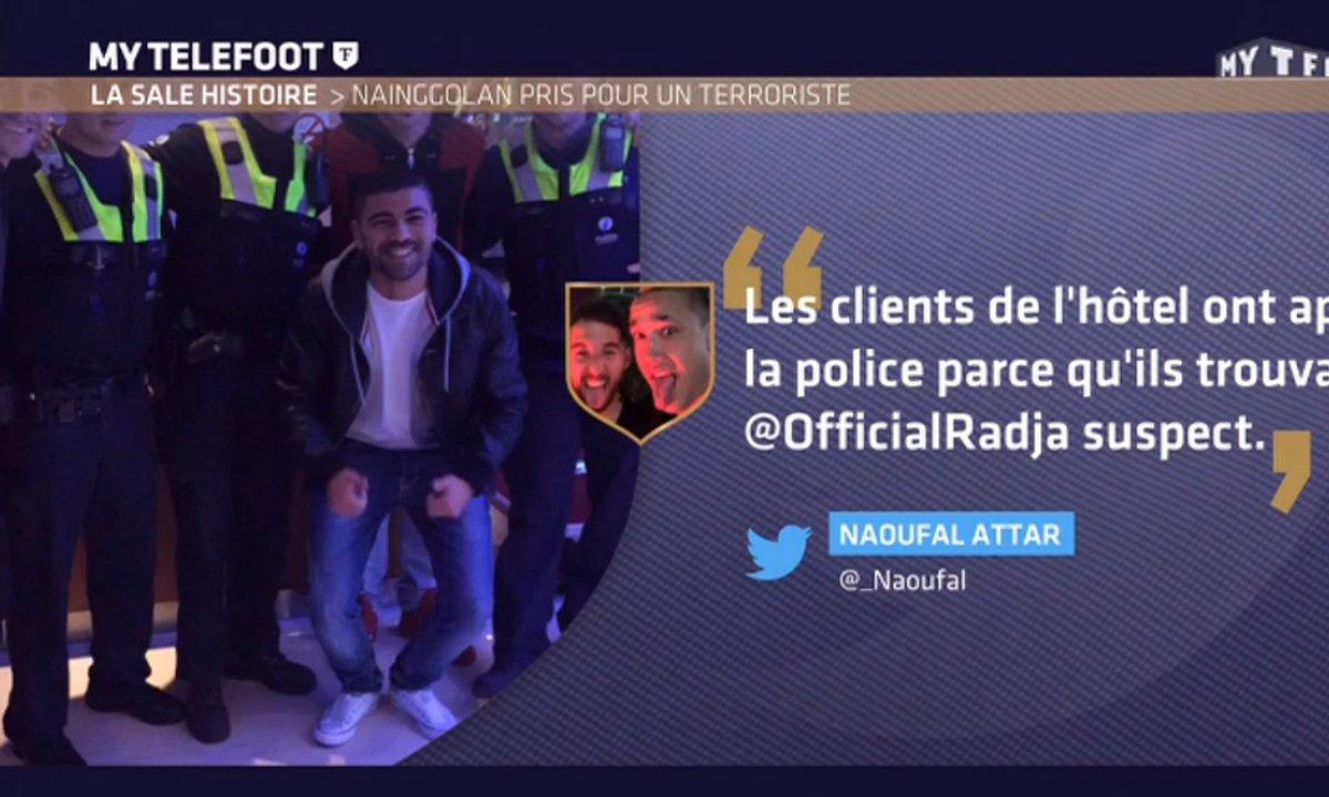 MyTELEFOOT – La sale histoire : Radja Nainggolan arrêté par la police ?