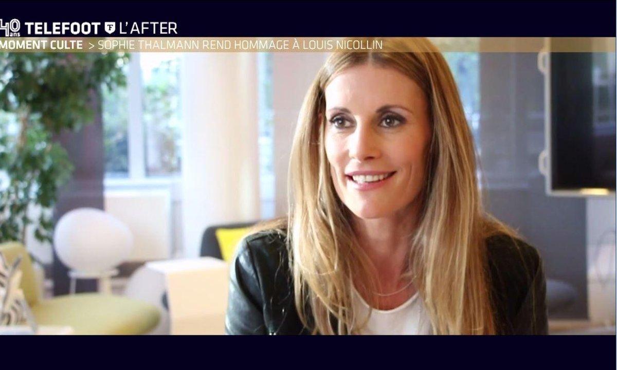 Téléfoot, l'After - Moment Culte : Sophie Thalmann rend hommage à Louis Nicollin