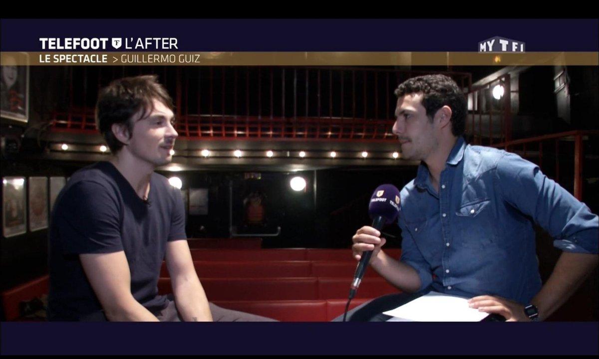 Téléfoot, l'After - Le spectacle : Guillermo Guiz