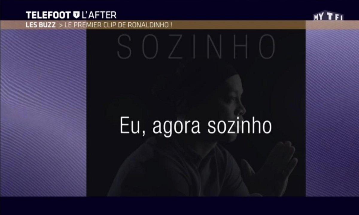 Téléfoot, l'After - Le Buzz : Ronaldinho devient chanteur !