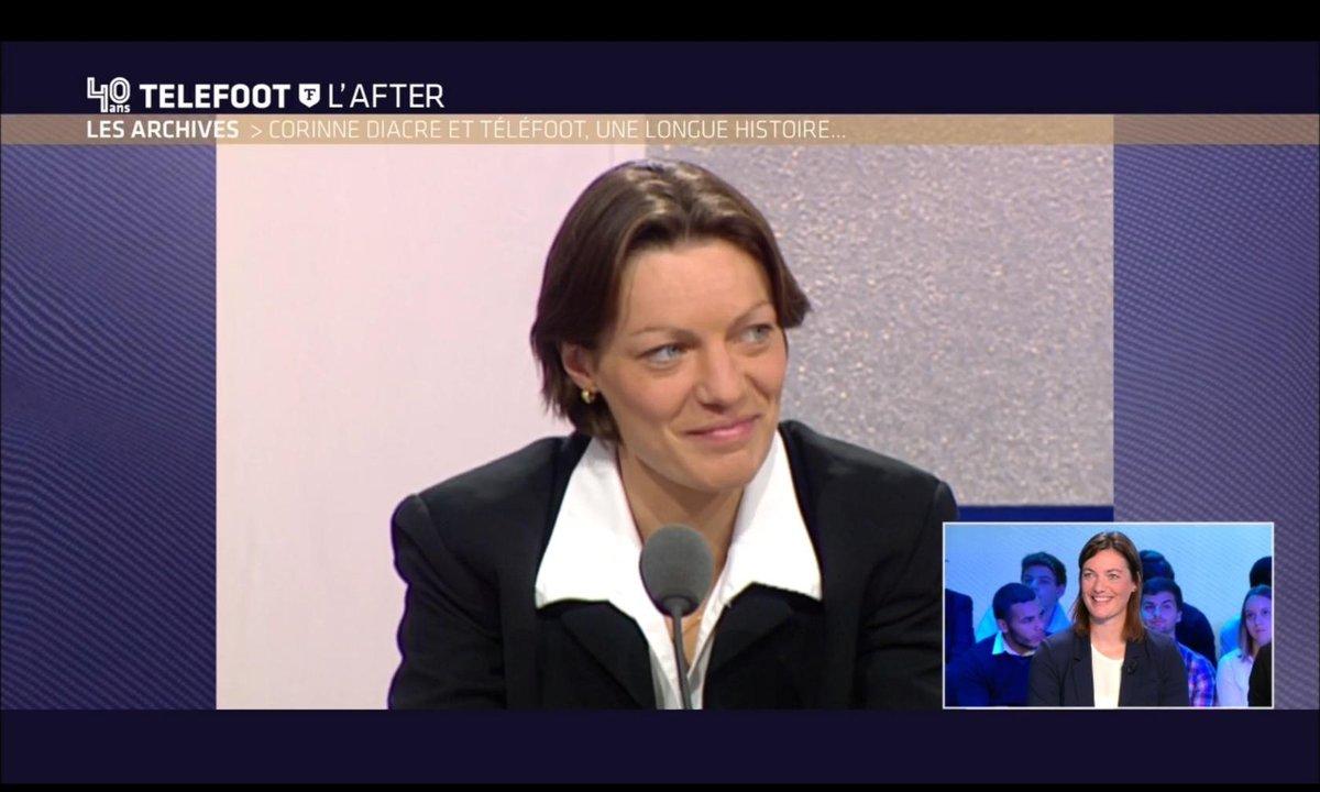 Téléfoot, l'After - Corinne Diacre et Téléfoot, une longue histoire