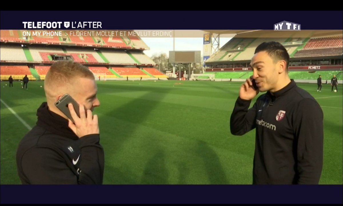 Téléfoot, l'After - On my phone : Mevlut Erding et Florent Mollet