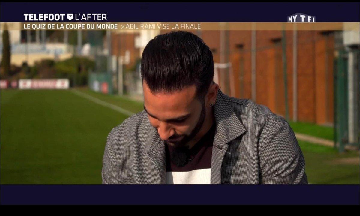 Téléfoot, l'After - Le quiz de la Coupe du monde : Adil Rami vise la finale