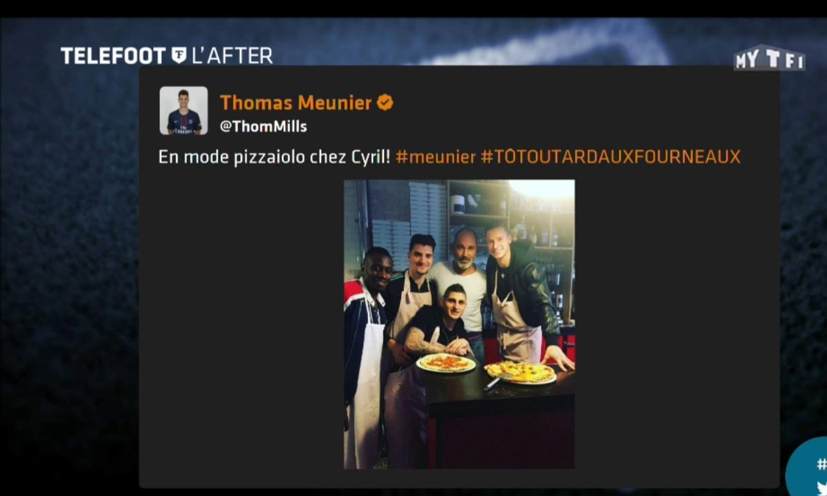 Téléfoot, l'After - Les tweets de la semaine : La pizza du PSG, l'hommage à Kopa et Charlotte Namura au ski