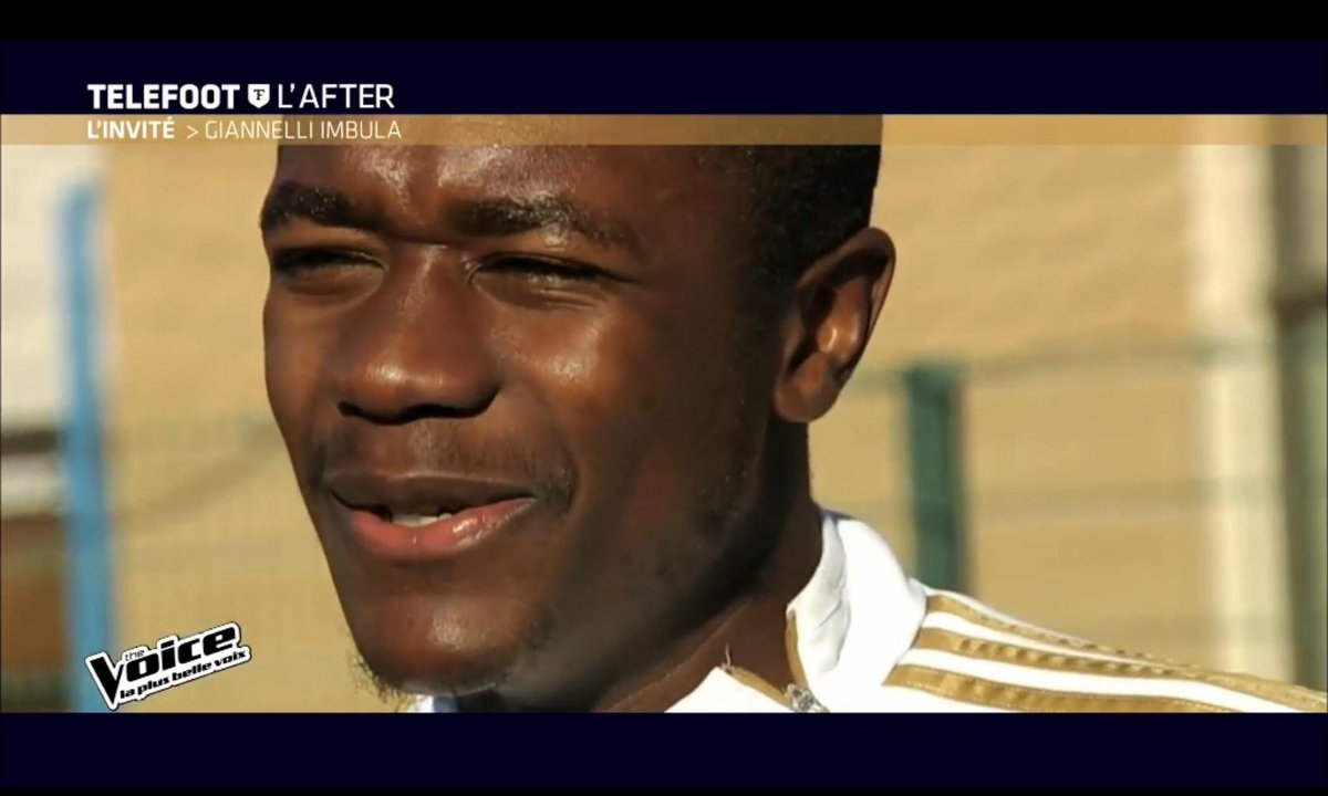 Téléfoot, l'After - The Voice juge Giannelli Imbula