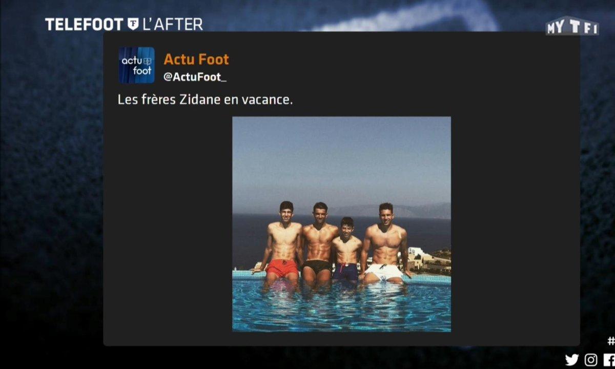 Téléfoot, l'After - Les tweets de la semaine : Benzema, le mariage de Messi, Les Zidane