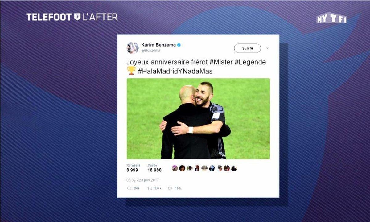 Téléfoot, l'After - Les tweets de la semaine  : Benzema, Zidane et Peter Crouch
