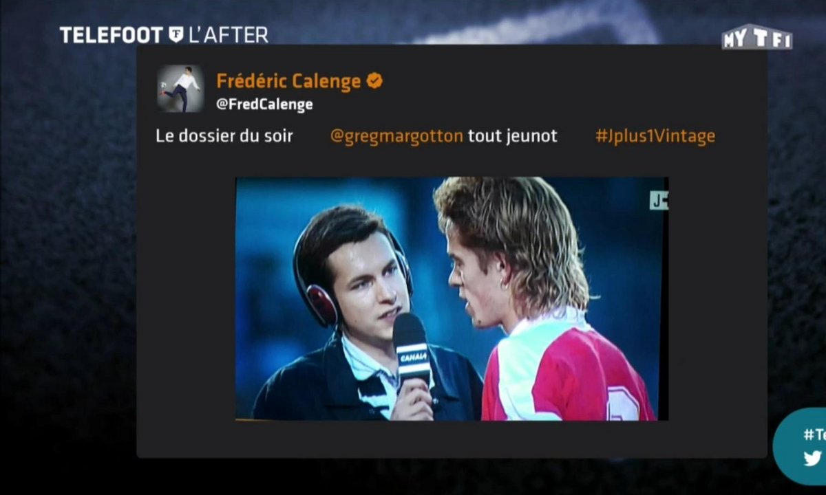 Téléfoot, l'After - Les tweets de la semaine : Chiellini , Corchia et Margotton