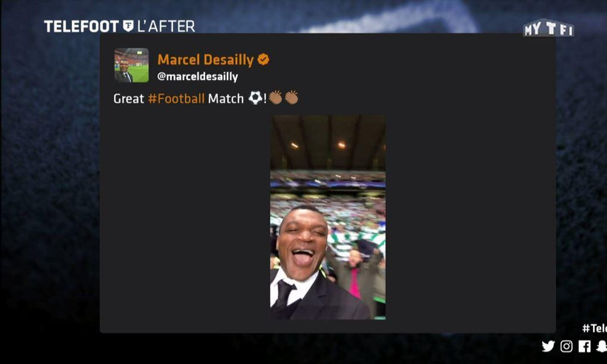 Téléfoot, l'After - Les tweets de la semaine : Desailly en forme !