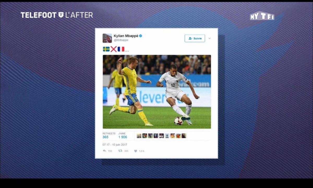 Téléfoot, l'After - Les tweets de la semaine : Kylian Mbappé et Eden Hazard