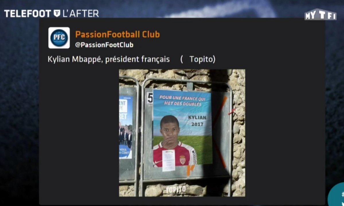 Téléfoot, l'After - Les tweets de la semaine : Kylian Mbappé président