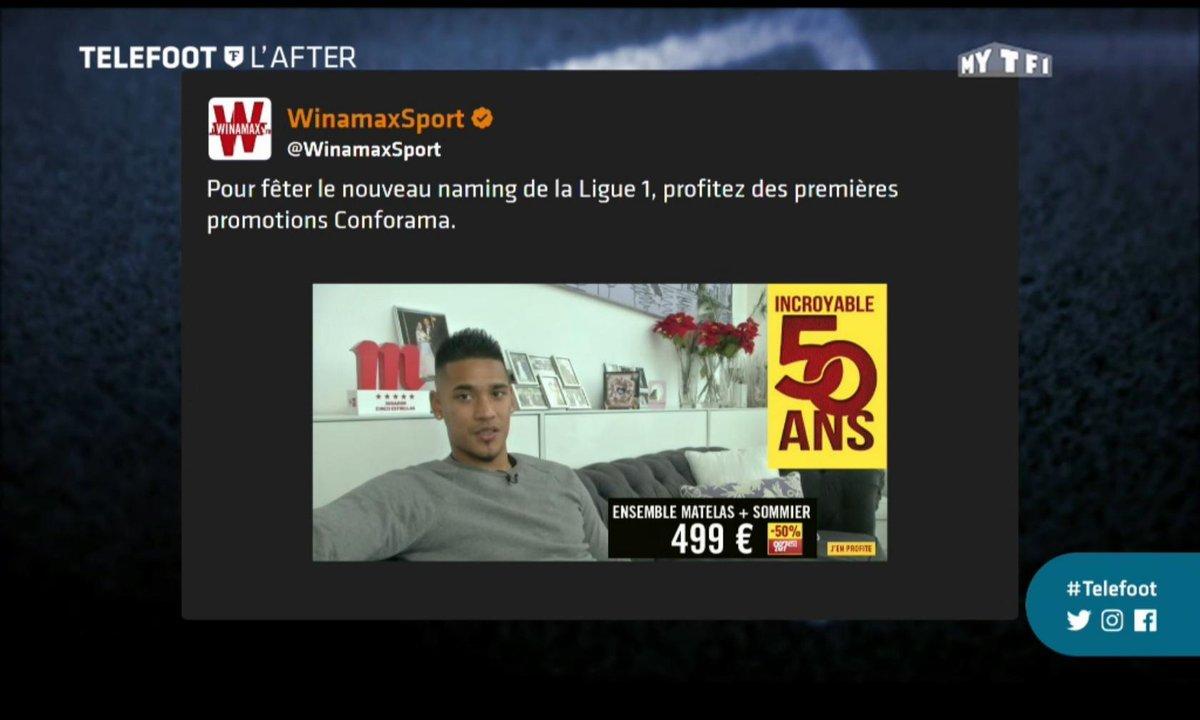 Téléfoot, l'After - Les tweets de la semaine : La ligue 1 Conforama