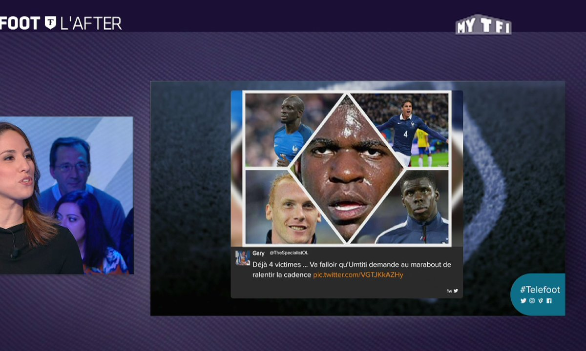 MyTELEFOOT L'After - Les tweets de la semaine avec le marabout d'Umtiti