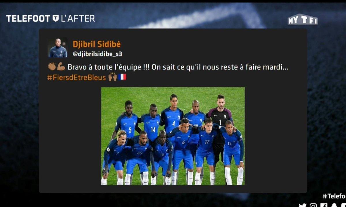 Téléfoot, l'After - Les tweets de la semaine : le match Bulgarie-France