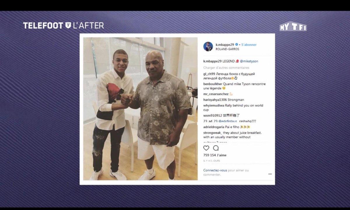 Téléfoot, l'After - Les Tweets de la semaine : Mbappé/Tyson