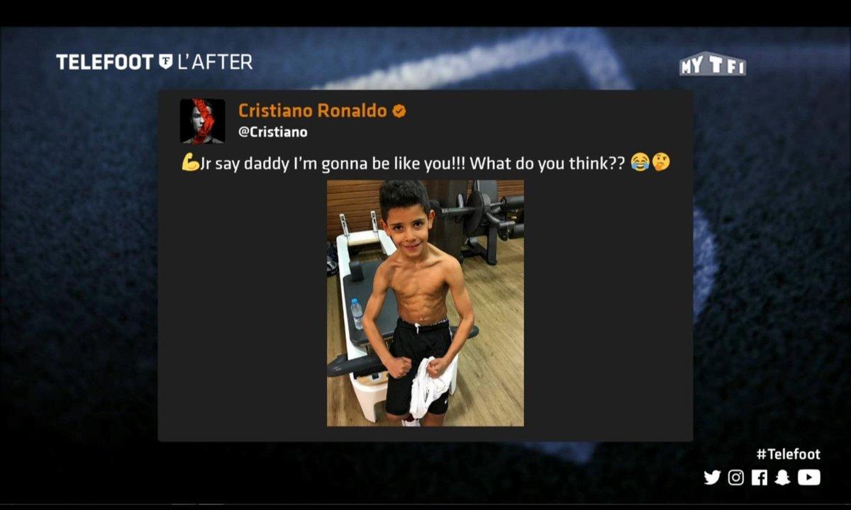 Téléfoot, l'After - Les tweets de la semaine : Neymar et CR7 junior