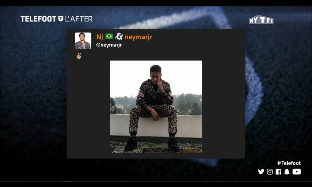 Téléfoot, l'After - Les tweets de la semaine avec Neymar la panthère