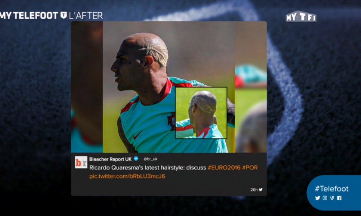 MyTELEFOOT L'After - Les tweets de la semaine avec la nouvelle coupe de Quaresma