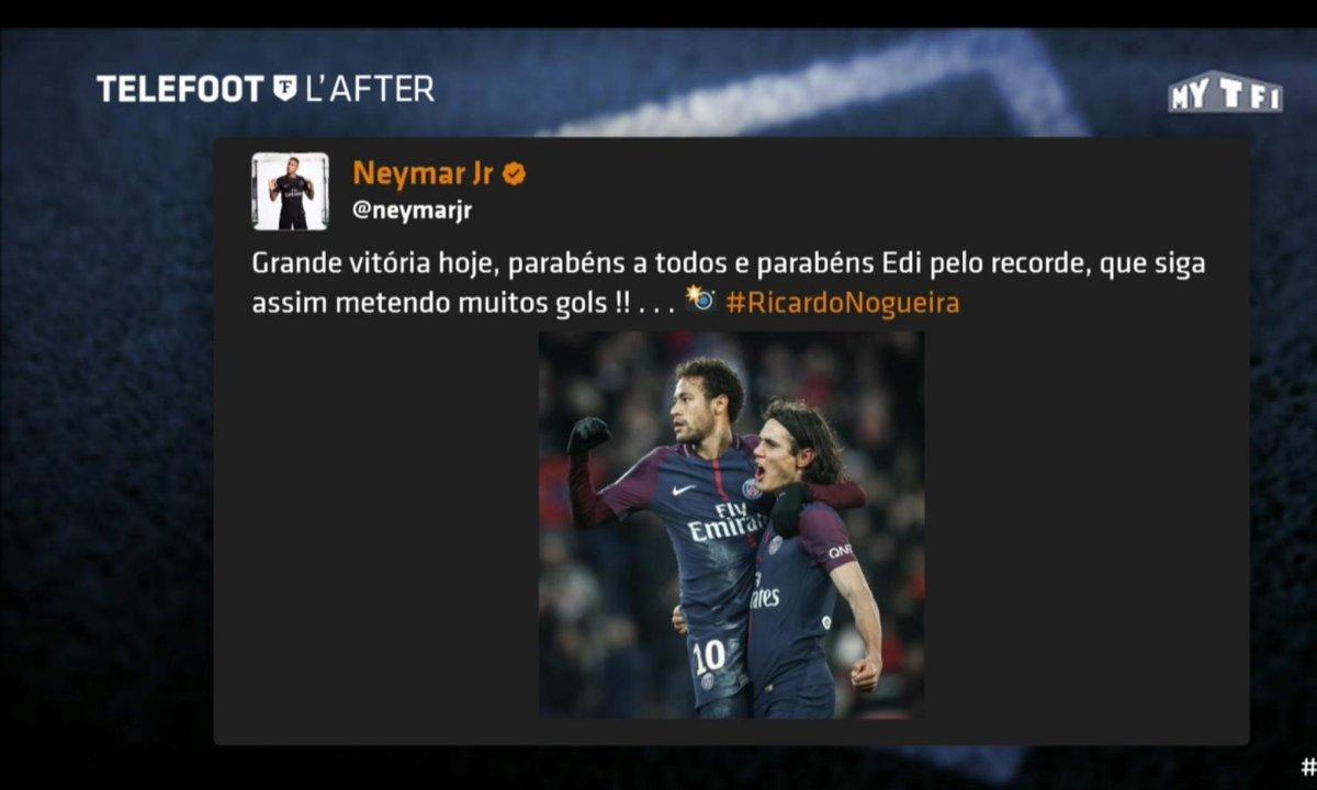 Téléfoot, l'After - Les tweets de la semaine : le record de Cavani