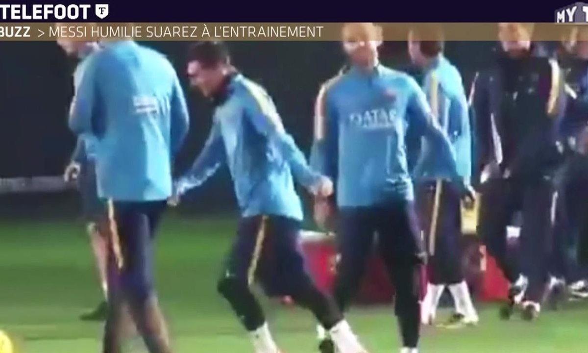 MyTELEFOOT - Les buzz de la semaine : un geste technique incertain, Messi humilie Suarez, l'action des U15 du Barça