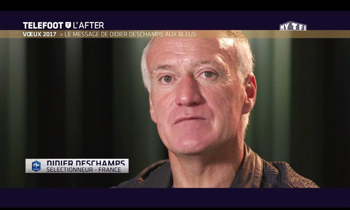 Téléfoot, l'After - Les voeux de Didier Deschamps