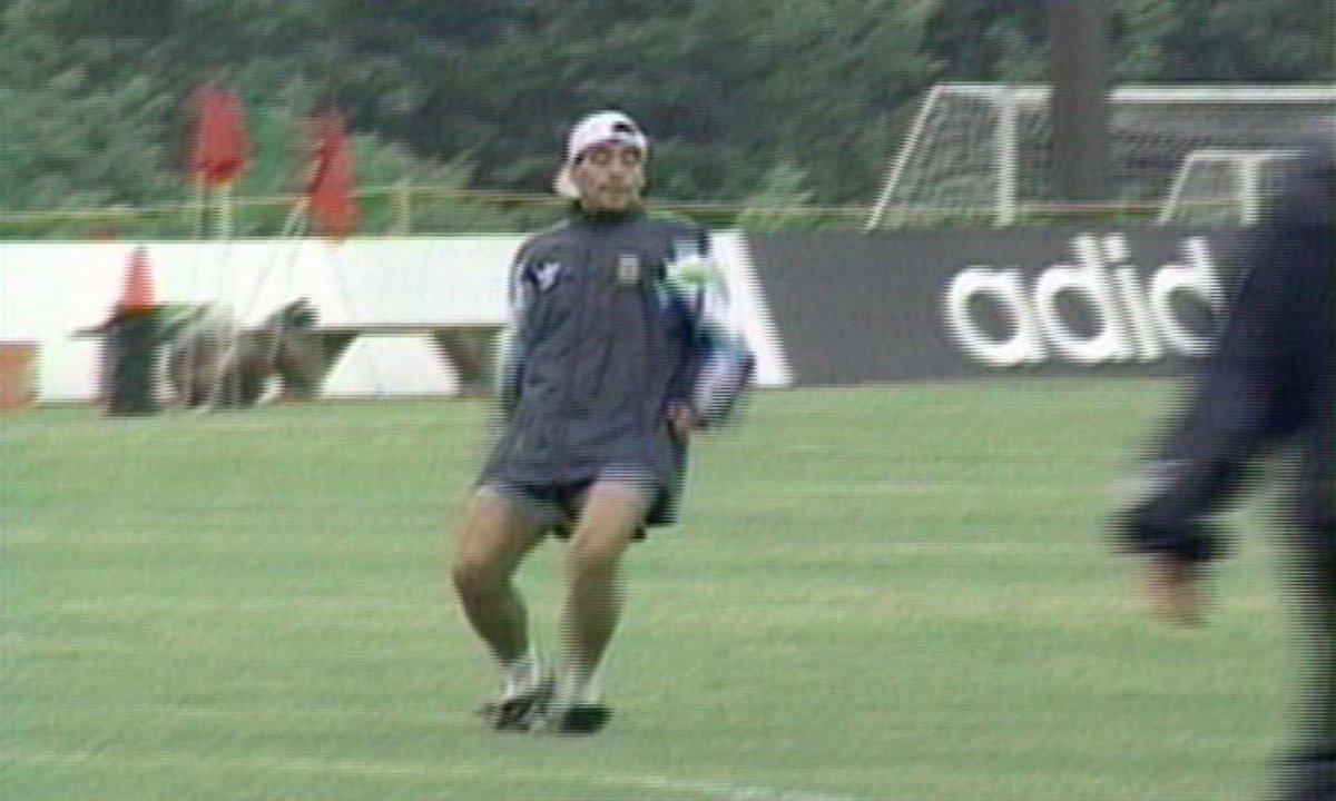 L'Archive du jour : le dernier entraînement de Maradona