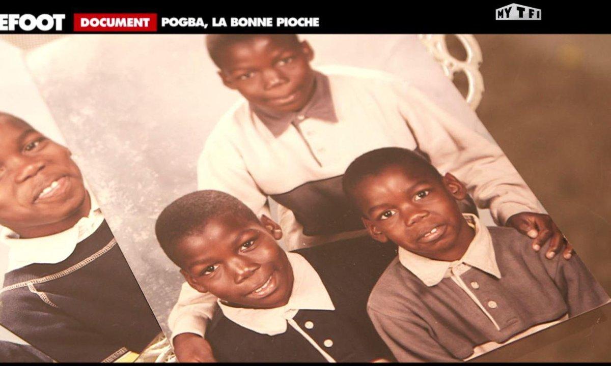 L'Archive du jour : Paul Pogba, aux origines
