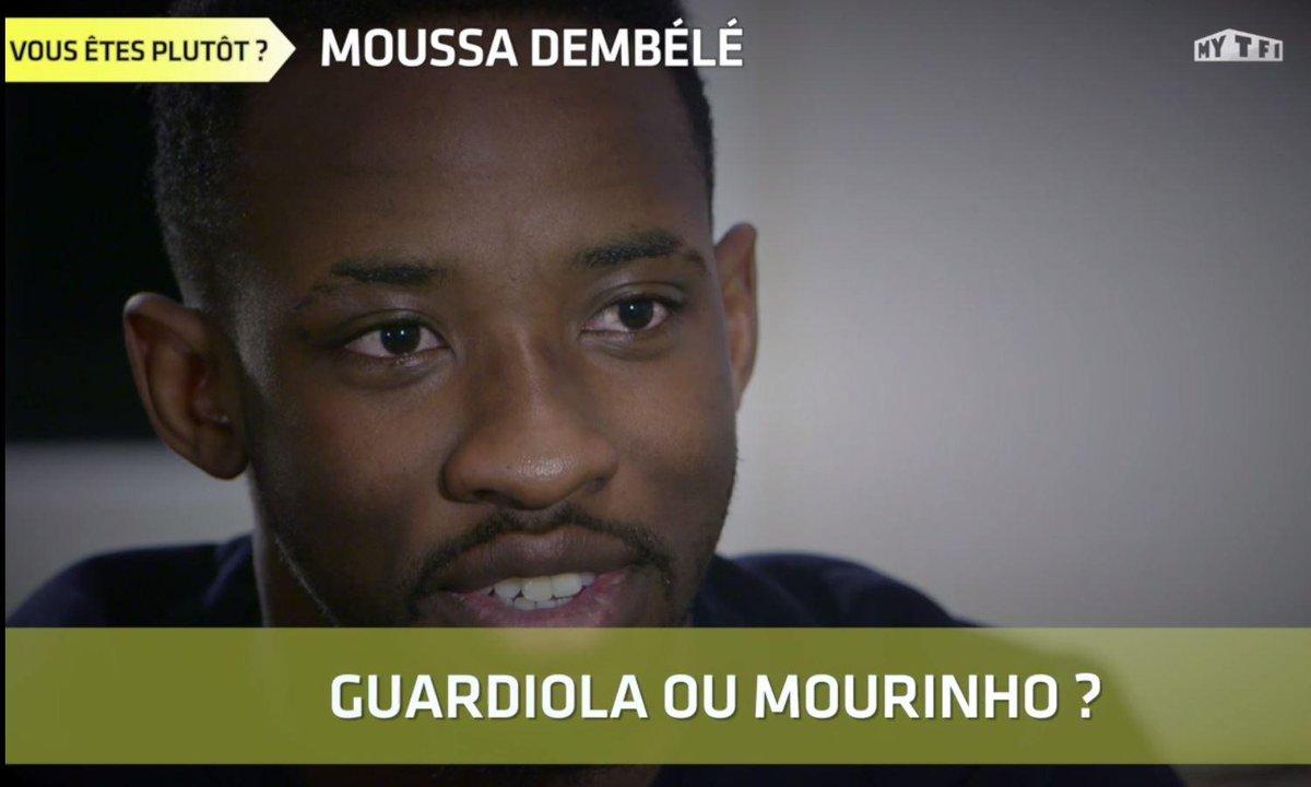 """L'interview """"Vous êtes plutôt"""" de Moussa Dembélé"""