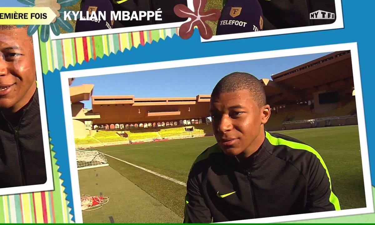 """L'interview """"Ta première fois"""" de Kylian Mbappé"""