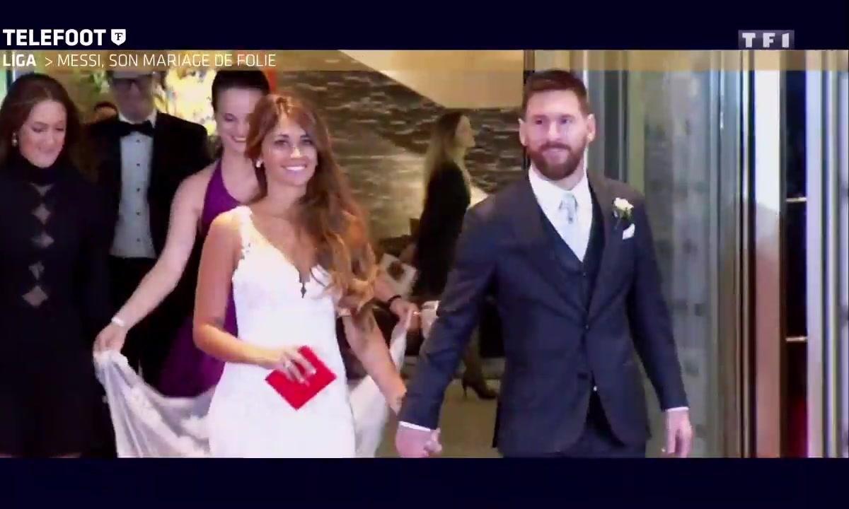 Liga - Messi, son mariage de folie
