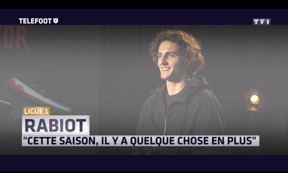 """Ligue 1 - Adrien Rabiot : """"Cette saison, il y a quelque chose en plus"""""""