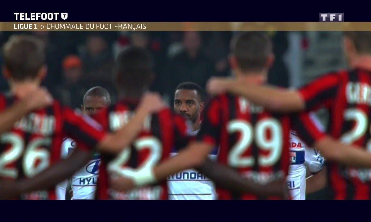Ligue 1 : L'hommage du football français