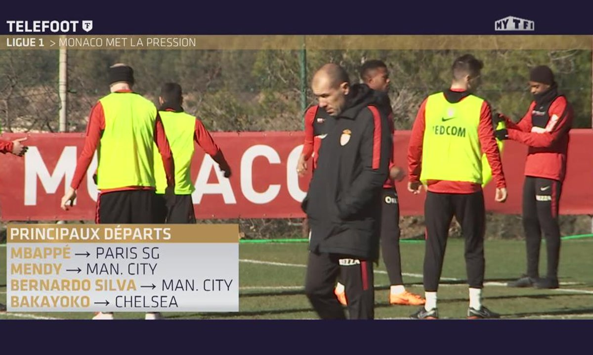 Ligue 1 : Monaco met la pression