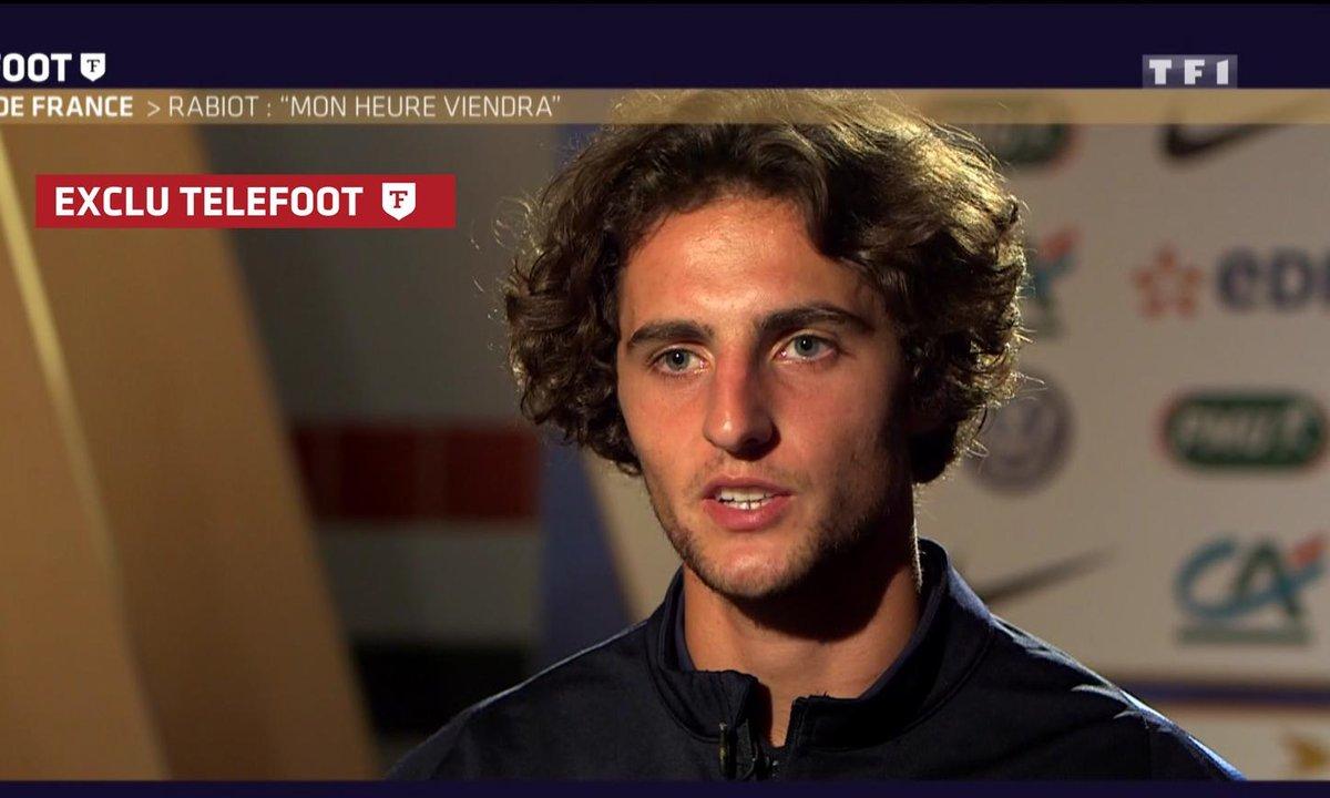 [Téléfoot 04/09] Ligue 1 : Rabiot : « Mon heure viendra »