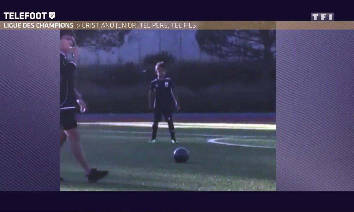 Ligue des champions - Ronaldo Junior : Tel père, tel fils !