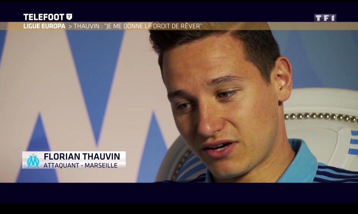 """Ligue Europa - Thauvin : """"Je me donne le droit de rêver"""""""