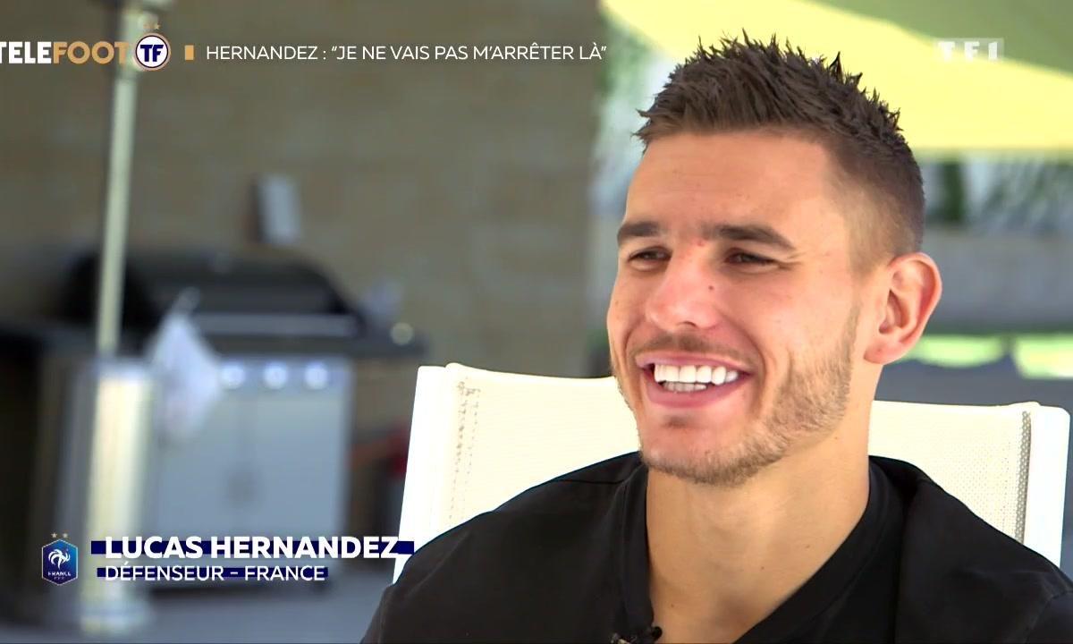 """Equipe de France - Lucas Hernandez : """"Je ne vais pas m'arrêter là"""""""