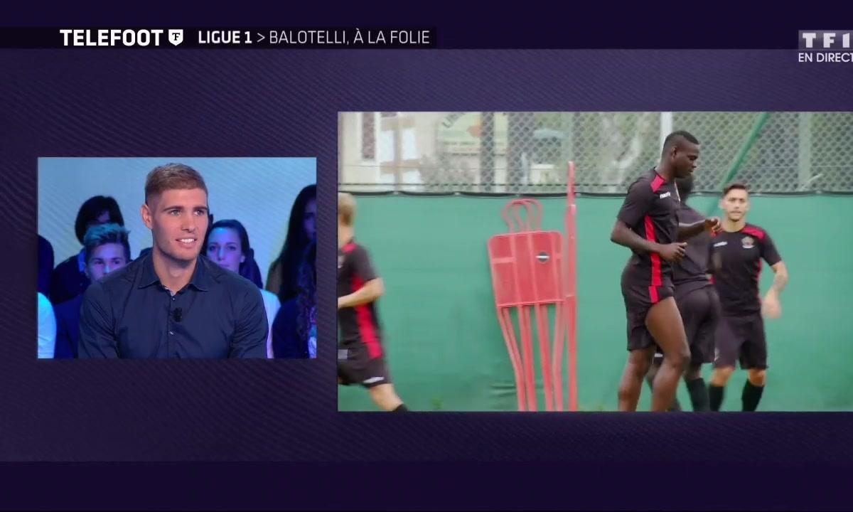 """[Téléfoot 18/09] Le Marchand : """"Balotelli est très content d'être parmi nous"""""""