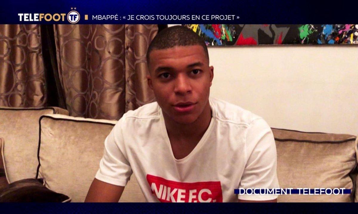 """PSG - Mbappé : """"Je crois toujours en ce projet"""""""