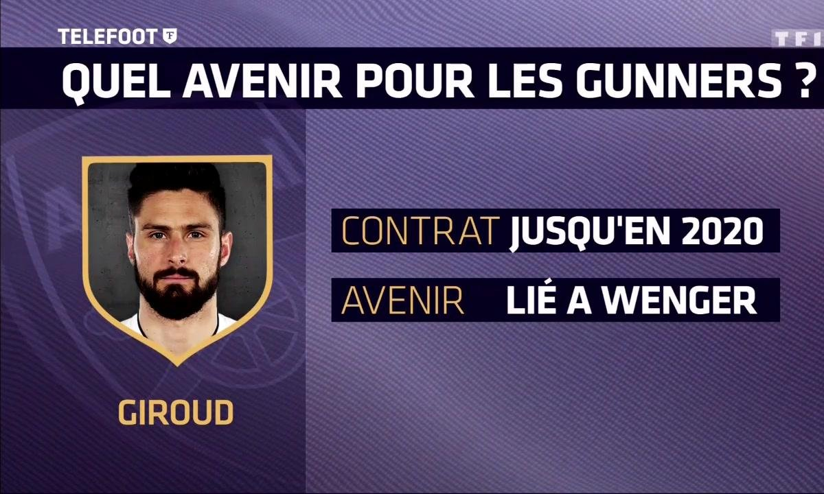 Mercato-Arsenal : Quel avenir pour Olivier Giroud et Laurent Koscielny ?
