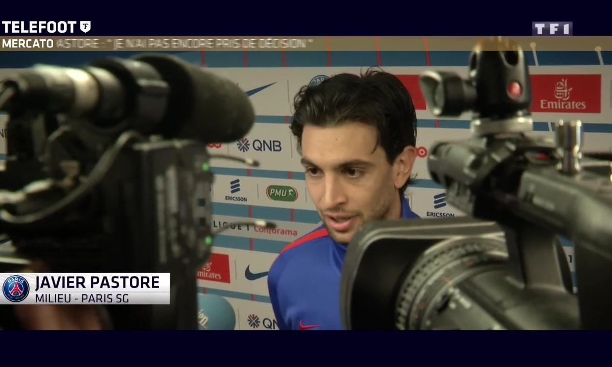 """Mercato - Javier Pastore : """"Je n'ai pas encore pris de décision"""""""