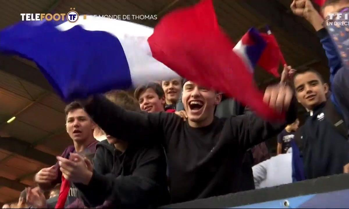 Le monde de Thomas spécial France-Islande à Guingamp